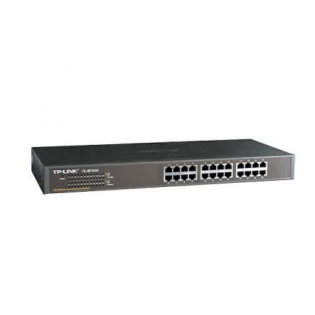 Switch Tp-Link 24 puertos enrackable 10/100