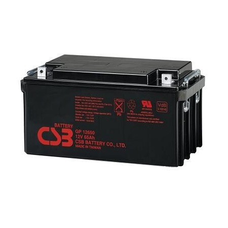 Batería 12V 65 Ah sellada