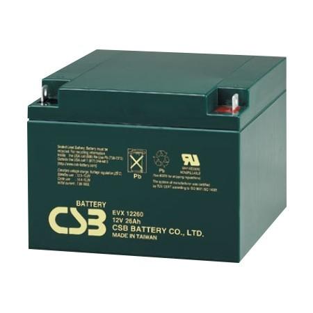 Batería 12V 26 Ah sellada especial vehículos eléctricos