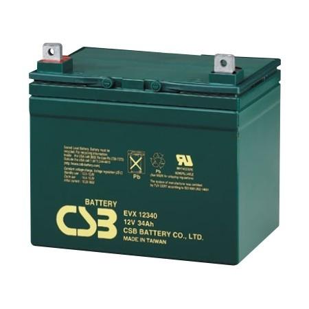 Batería 12V 34 Ah sellada especial vehículos eléctricos