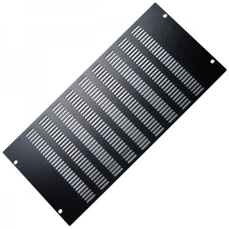Tapa caratula rack 19 aireacion 5U