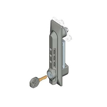 Maneta cerradura Rack 19 combinacion mecanica