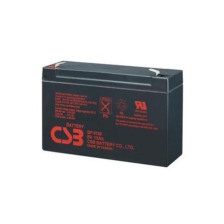 Batería 6V 12 Ah sellada