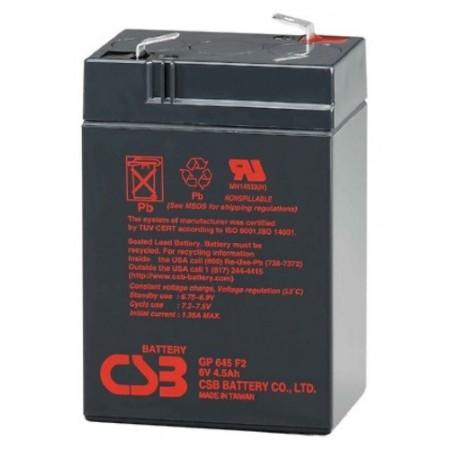 Batería 6V 4.5 Ah sellada