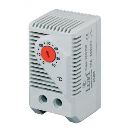 Termostato calefacción analógico para rack y carril DIN