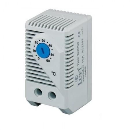 Termostato refrigeración analógico carril DIN