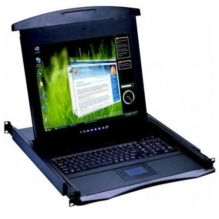 Consola rack KVM CyberView 17
