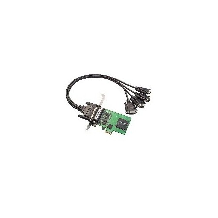 Tarjeta Moxa PCI Express CP-104EL-A-DB9M