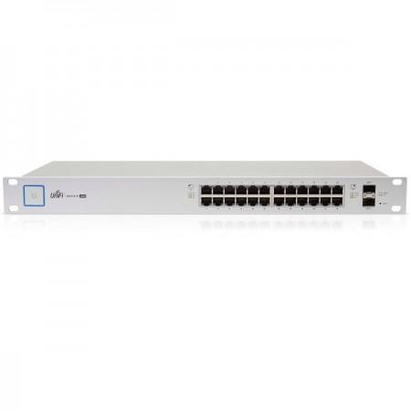 Switch Ubiquiti Gigabit 24 puertos 10/100/1000 150W y 2 SFP