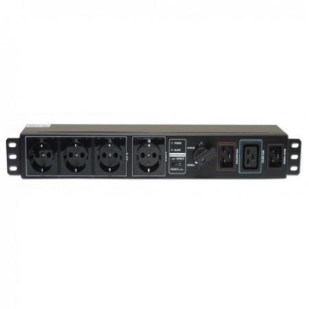 Switch bypass Lapara de mantenimiento rack 19 regleta schuko