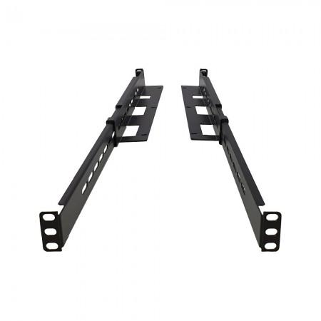 Guía ajustable Rack 19 470mm - 800mm fijación frontal