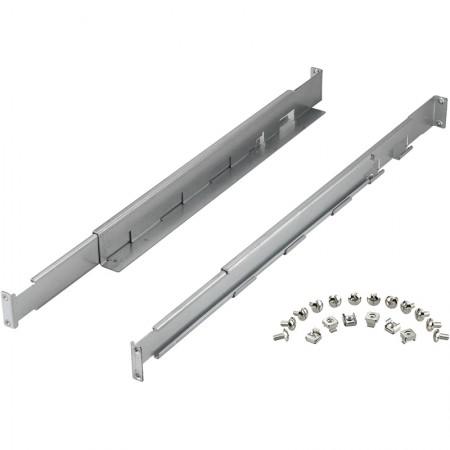 Guía ajustable Rack 19 480mm - 780mm fijación frontal