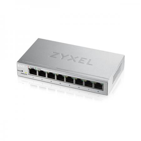 Switch Zyxel Gestionable 8 puertos Gigabit 10/100/1000