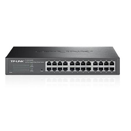 Switch Tp-Link 24 puertos Easy Smart enrackable/sobremesa Gigabit 10/100/1000